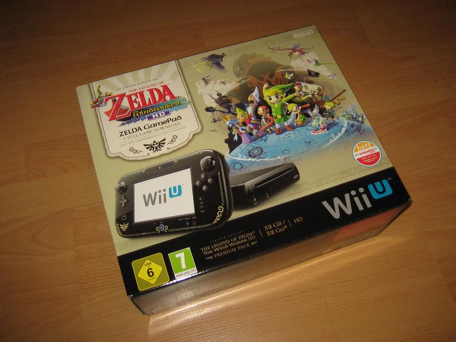 Wii U Zelda Wind Waker Pack