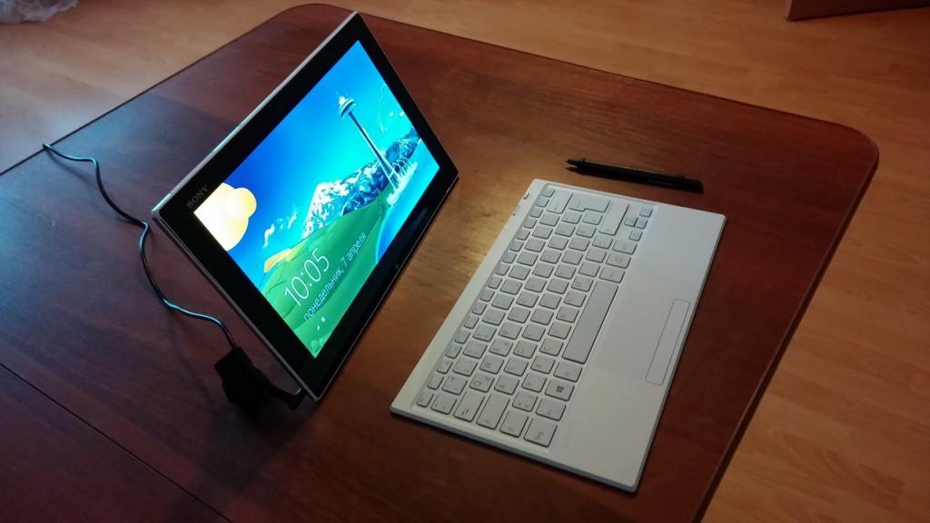 Планшет Sony Vaio Tap 11 128 Gb. Приятные особенности устройства