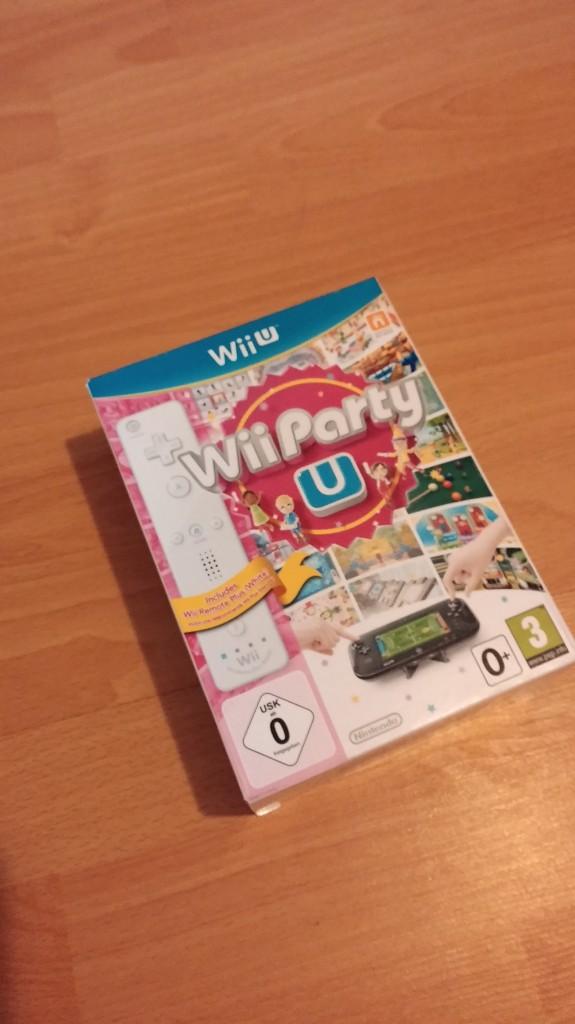 Wii Party U в комплекте с пультом Wii U Remote Plus