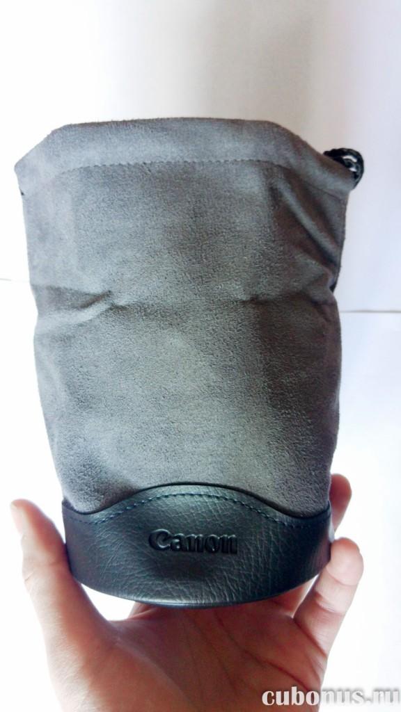 Защитный мягкий чехол объектива CANON EF 16-35 mm f4L IS USM