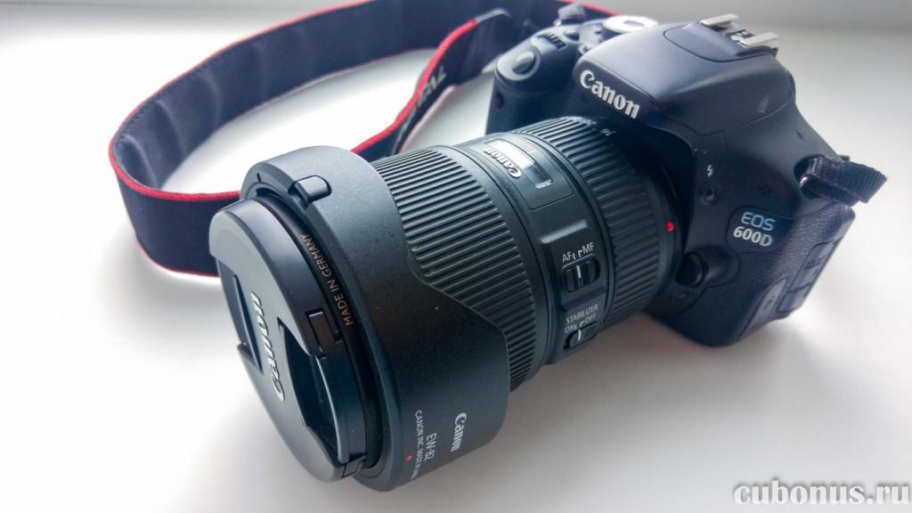 Использование объектива Canon EF 16-35mm 14L IS USM