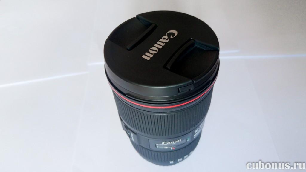 Новый объектив Canon EF 16-35mm 14L