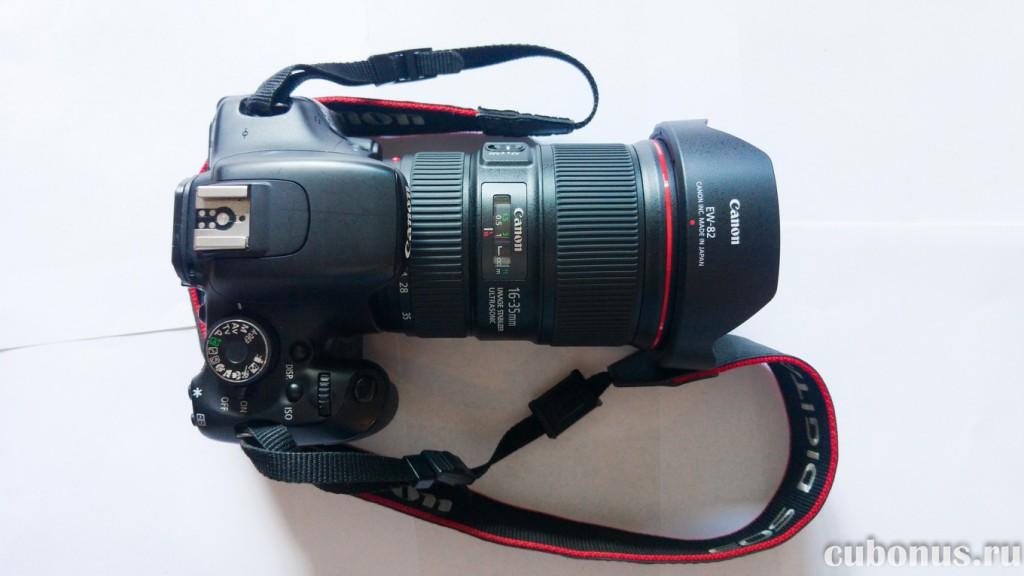 Canon 600D + Canon EF 16-35mm 14L