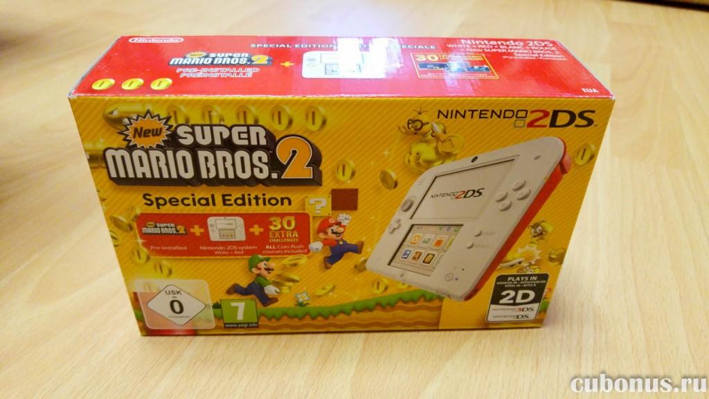 Nintendo 2DS + New Super Mario Bros.2 Special Edition