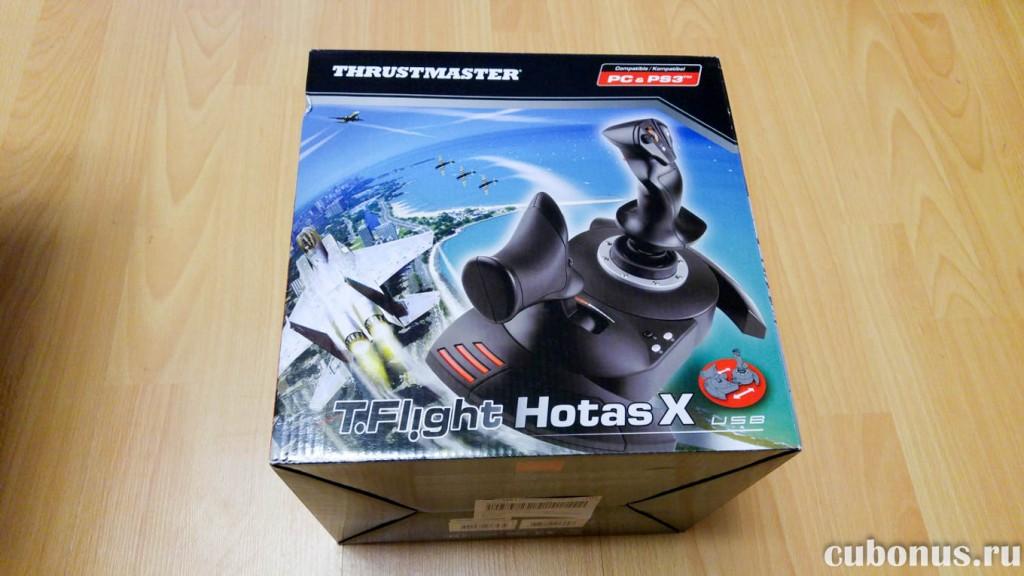 Джойстик для авиасимуляторов и шутеров Thurustmaster T.Flight Hotas X