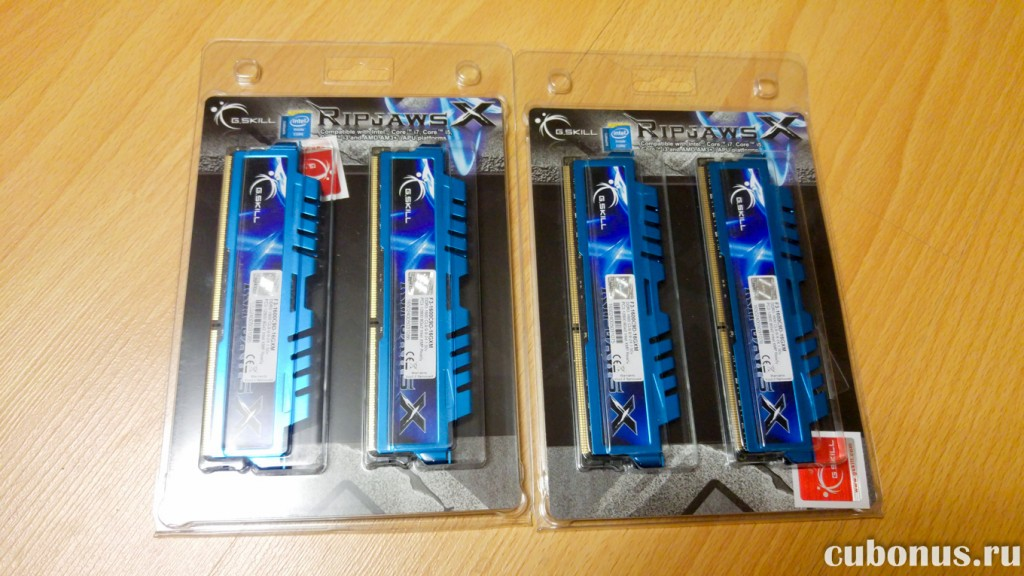 07 G.Skill 16GB DDR3 Kit 1600MHz, PC3-12800 с computeruniverse
