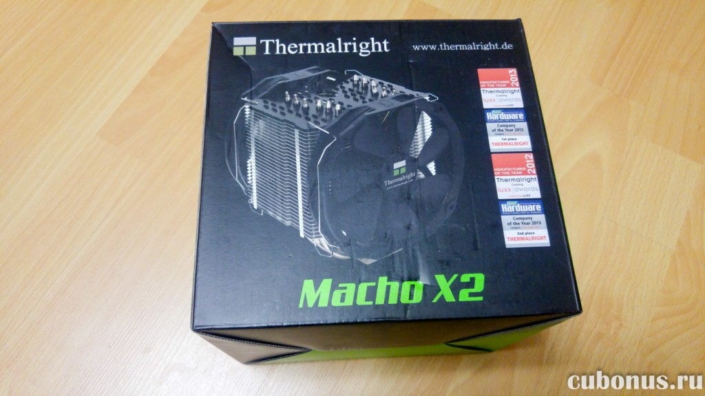 16 Thermalright HR-02 Macho X2 с computeruniverse