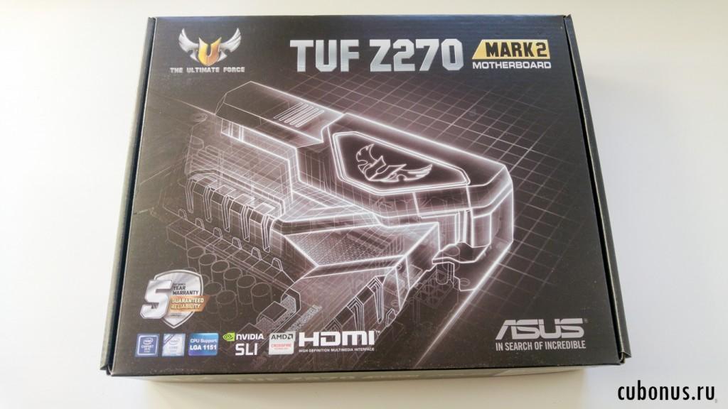 Материнская плата ASUS TUF Z270 MARK 2 с computernuverse