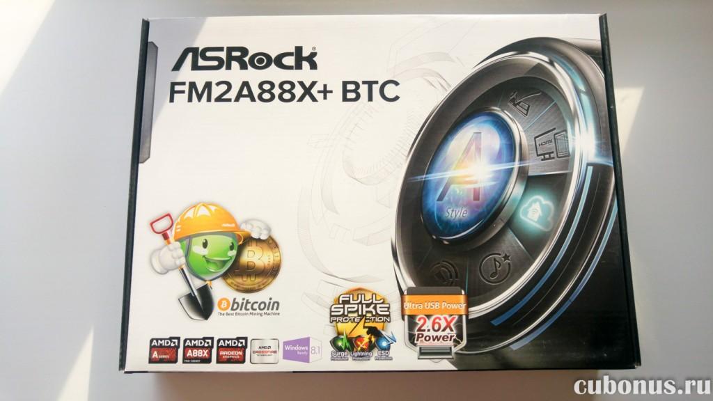 ASRock FM2A88X+ BTC Bitcoin Sockel FM2 ATX
