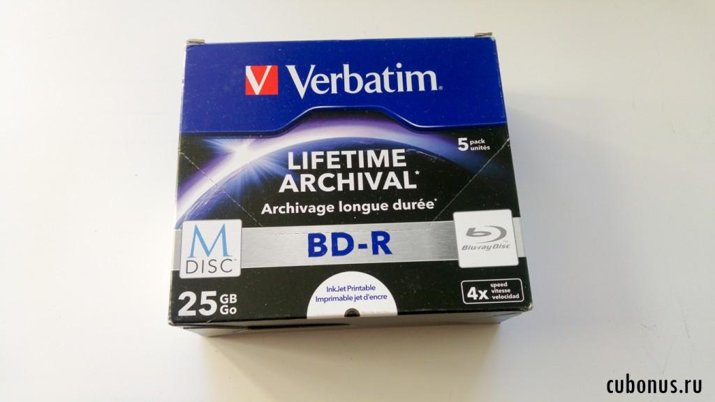 Verbatim 43823 BD-R M-DISC 25GB1-4x (5 Disc) Jewelcase weiß Fullsize Surface