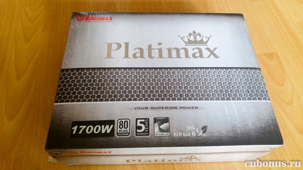 Блок питания Enermax Platimax 1700