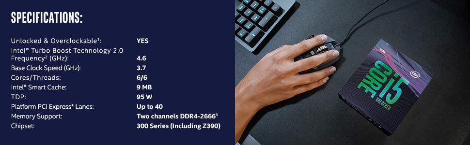 Обзор Intel Core i5-9600K Coffee Lake Refresh tray
