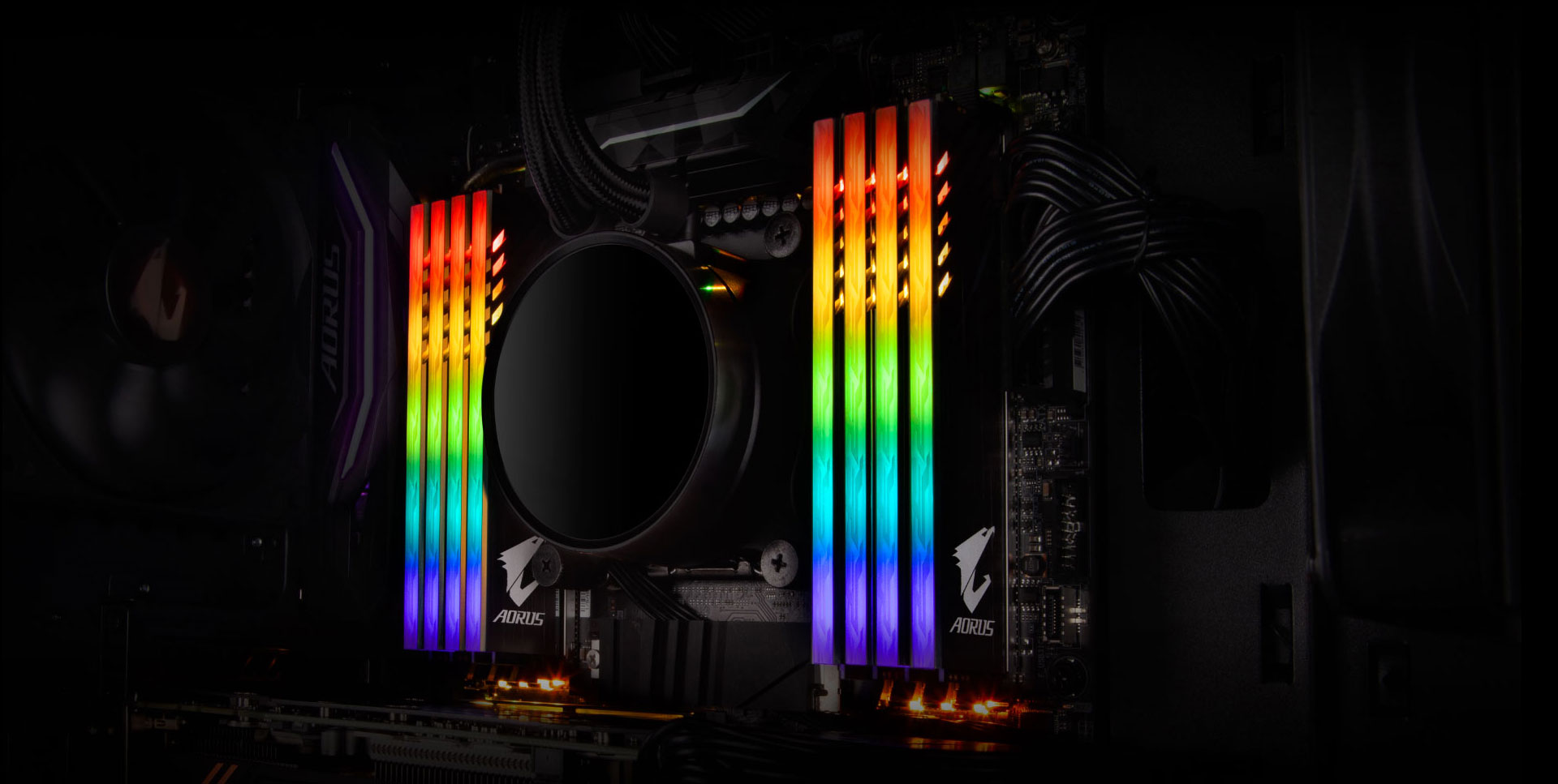 Обзор GIGABYTE AORUS RGB 16GB DDR4 Kit 3200 CL16 (2x8GB